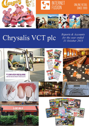 Chrysalis VCT annual report 2015