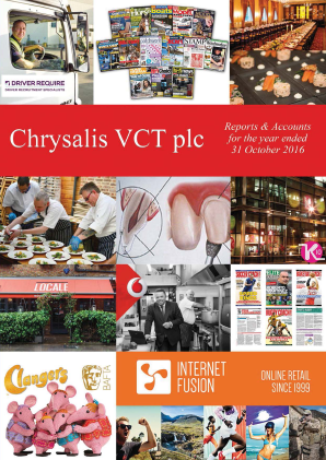 Chrysalis VCT annual report 2016
