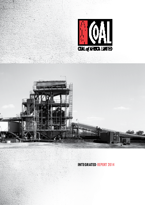 MC Mining (Previously Coal Of Africa) annual report 2014