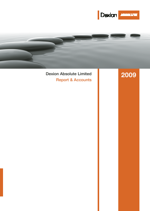 Dexion Absolute  (now Fidante Capital) annual report 2009
