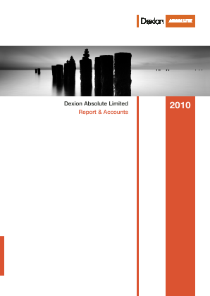 Dexion Absolute  (now Fidante Capital) annual report 2010