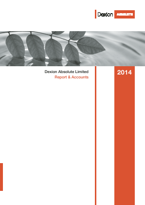 Dexion Absolute  (now Fidante Capital) annual report 2014