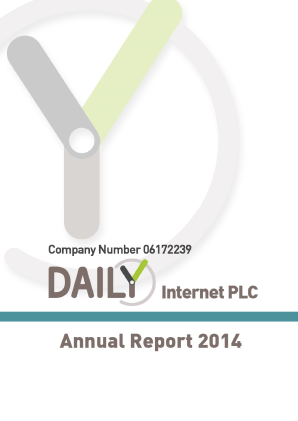 SYSGroup (previously Daily Internet) annual report 2014