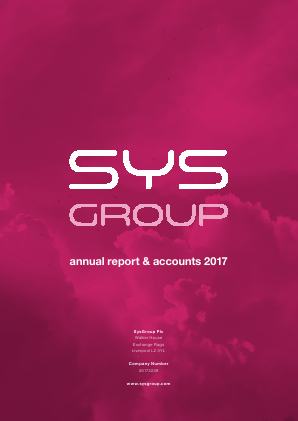 SYSGroup (previously Daily Internet) annual report 2017