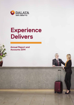 Dalata Hotel Group Plc annual report 2014