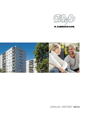 D. Carnegie & Co annual report 2014