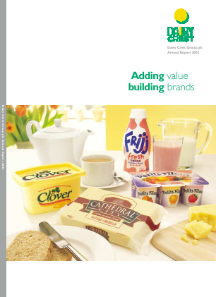 Dairy Crest Group annual report 2002