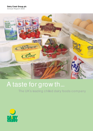 Dairy Crest Group annual report 2003