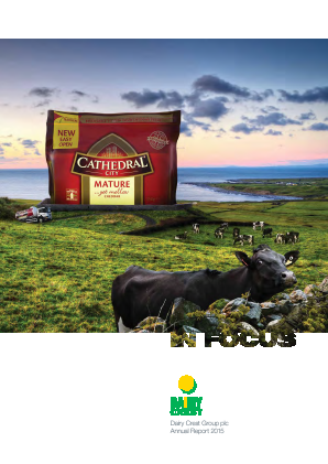 Dairy Crest Group annual report 2015