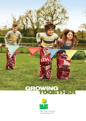 Dairy Crest Group annual report 2017