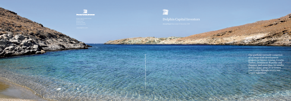 Dolphin Capital Investors annual report 2009