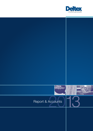 Deltex Medical Group annual report 2014