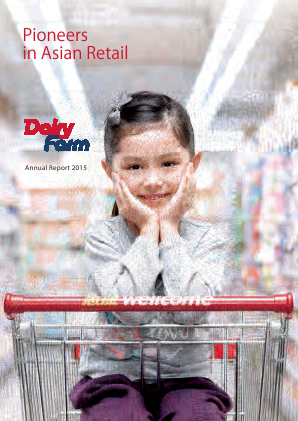 Dairy Farm International Holdings annual report 2015