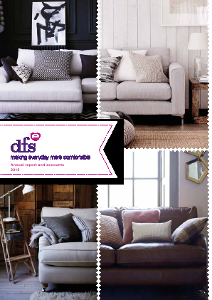 DFS Furniture Plc annual report 2015