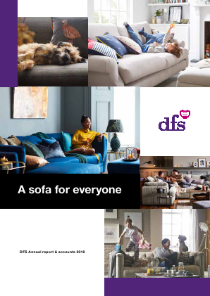 DFS Furniture Plc annual report 2018