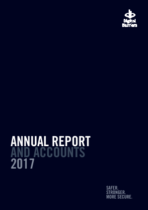 Thruvision (previously Digital Barriers) annual report 2017