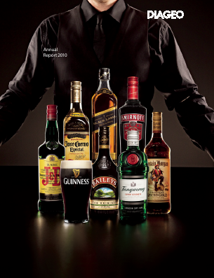 Diageo annual report 2010