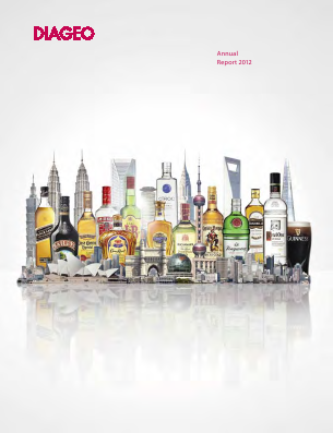 Diageo annual report 2012