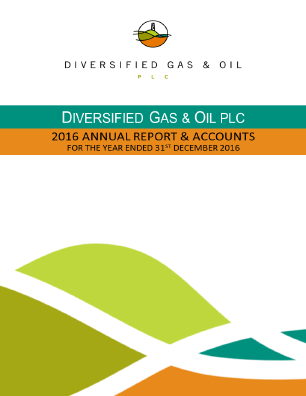 Diversified Gas & Oil annual report 2016