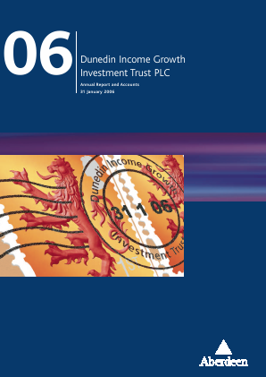 Dunedin Income Growth Invest Trust annual report 2006