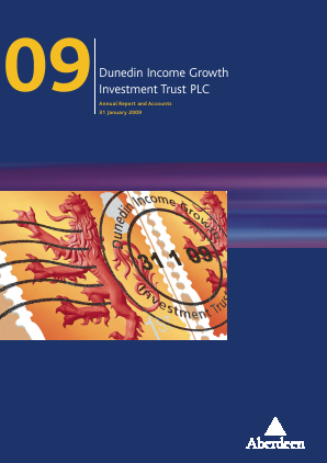 Dunedin Income Growth Invest Trust annual report 2009