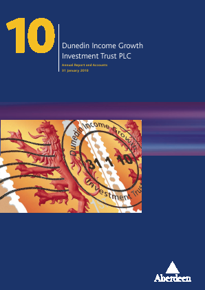 Dunedin Income Growth Invest Trust annual report 2010