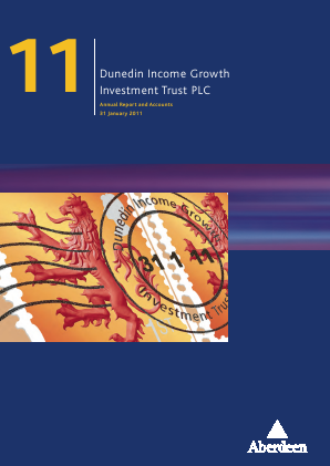 Dunedin Income Growth Invest Trust annual report 2011