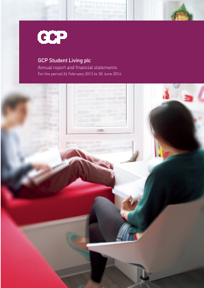 GCP Student Living Plc annual report 2014