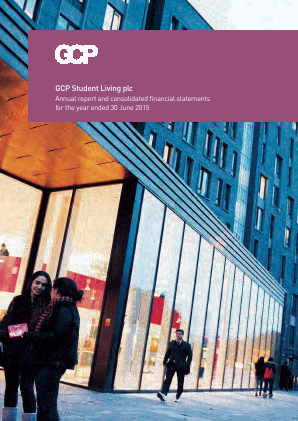 GCP Student Living Plc annual report 2015