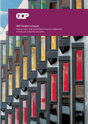 GCP Student Living Plc annual report 2016
