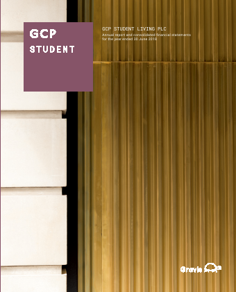 GCP Student Living Plc annual report 2018