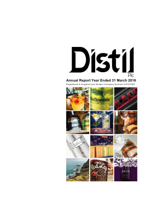 Distil Plc annual report 2016