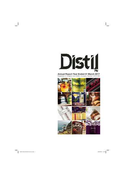 Distil Plc annual report 2017