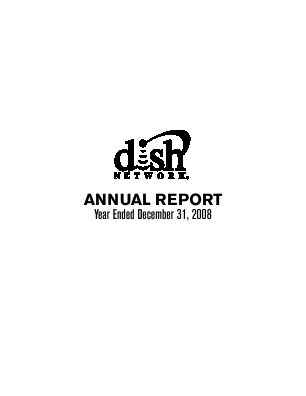 Dish Network Corporation annual report 2008