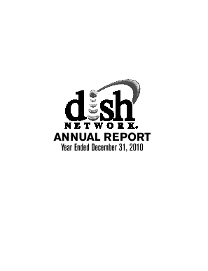 Dish Network Corporation annual report 2010