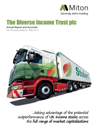 Diverse Income Trust Plc(The) annual report 2017