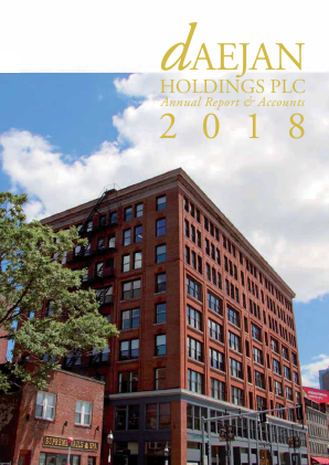 Daejan Holdings annual report 2018