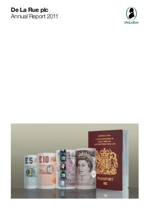 De La Rue annual report 2011