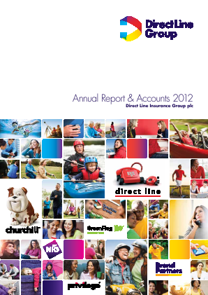 Direct Line Insurance Group Plc annual report 2012