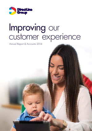 Direct Line Insurance Group Plc annual report 2014