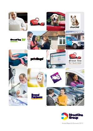 Direct Line Insurance Group Plc annual report 2015