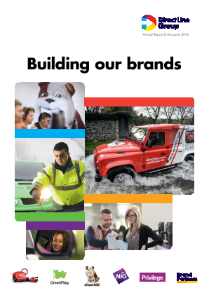 Direct Line Insurance Group Plc annual report 2016