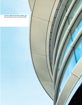 Derwent London Plc annual report 2003