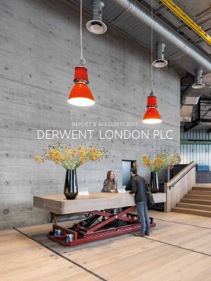 Derwent London Plc annual report 2017