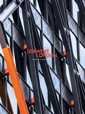 Derwent London Plc annual report 2018