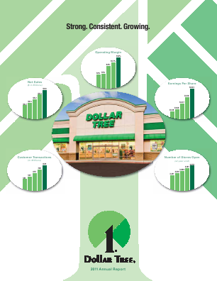 Dollar Tree Inc. annual report 2011
