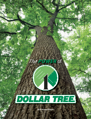 Dollar Tree Inc. annual report 2014