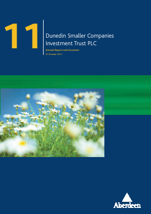 Dunedin Smaller Companies Investment Trust Plc annual report 2011