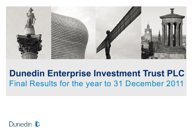 Dunedin Enterprise Investment Trust annual report 2011