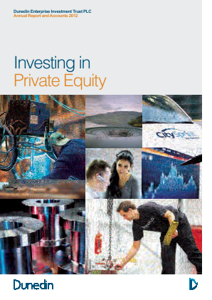 Dunedin Enterprise Investment Trust annual report 2012